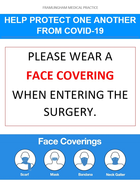 Face Coverings at the Surgery